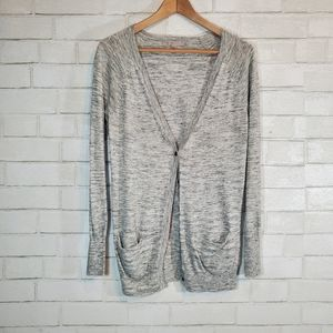 GAP lightweight gray cardigan